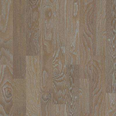 Take Home Sample - Andes Hickory Truffle Engineered Hardwood Flooring - 6-3/8 in. x 8 in.