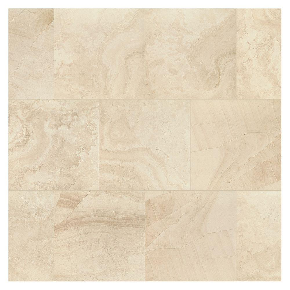 Marazzi Developed By Nature Rapolano 24 In X Glazed Porcelain Floor And