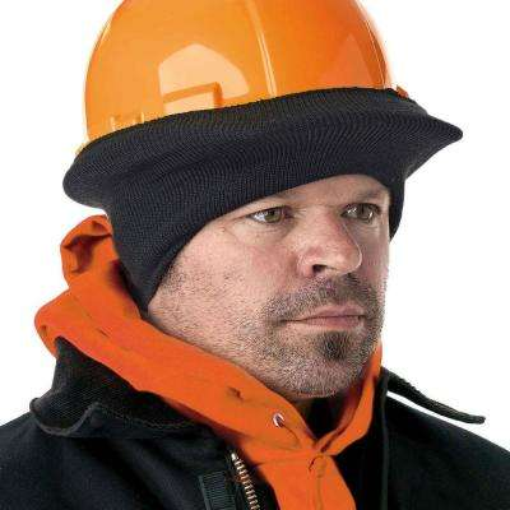 N-Ferno Black Stretch Cap - Half Style