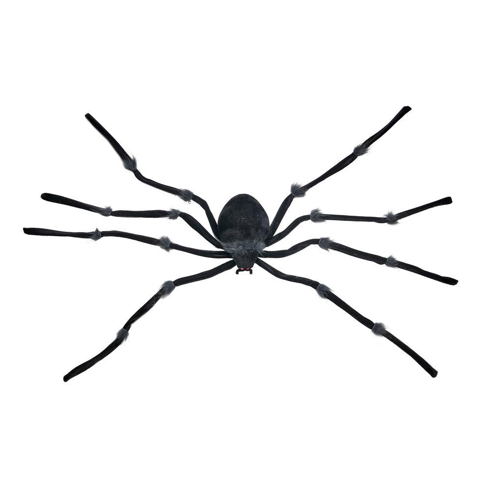 47 in. Black Giant Spider