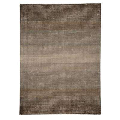 Surface Waves Brown 8 ft. x 10 ft. Indoor Area Rug