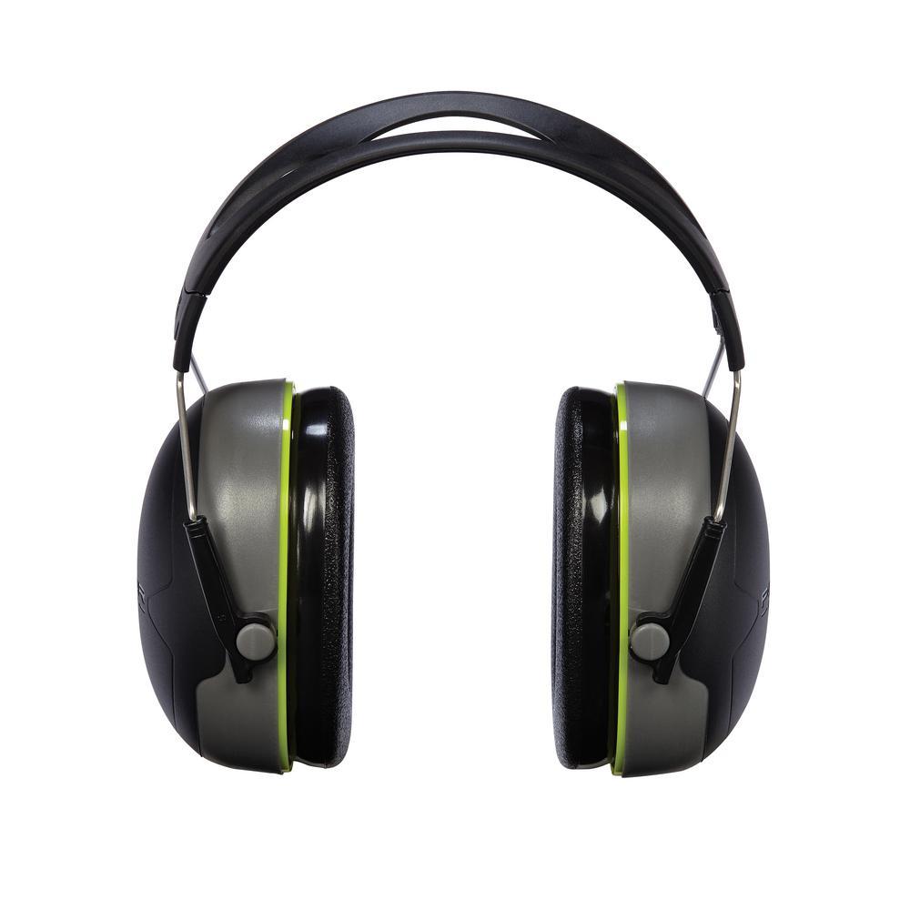Peltor Sport Bull's Eye Black-Gray Hearing Protectors (Case of 6)