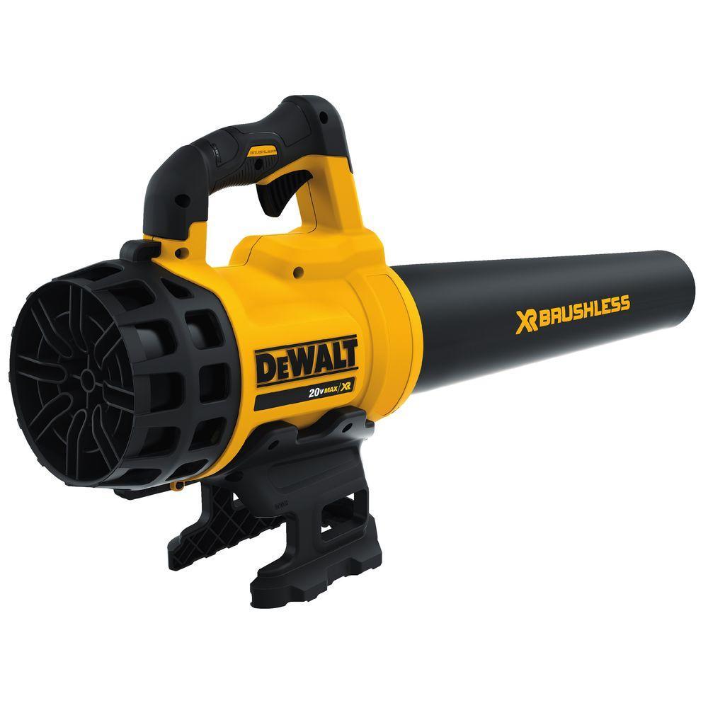 DEWALT 90 MPH 400 CFM 20V MAX Lithium-ion Cordless Handheld Leaf Blower (Tool Only)