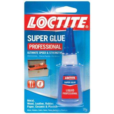 20g Professional Super Glue Liquid (4-Pack)