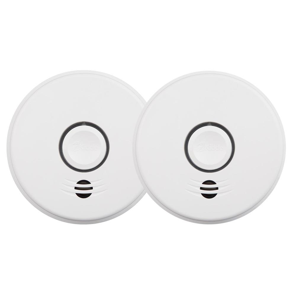 10-Year Worry Free Battery Wire-Free Interconnected Smoke Alarms Protection Kit
