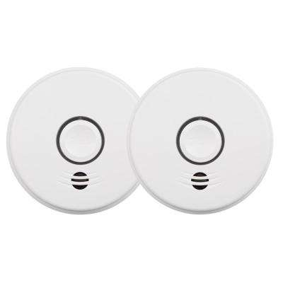 10-Year Worry Free Battery Wire-Free Interconnected Smoke Alarms Protection Kit (2-Pack)
