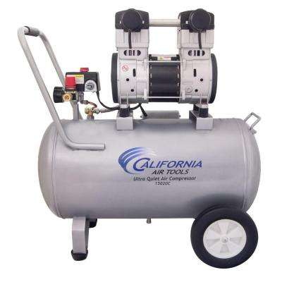 15 Gal. 2.0 HP 220-Volt 60 Hz Ultra Quiet and Oil-Free Air Compressor