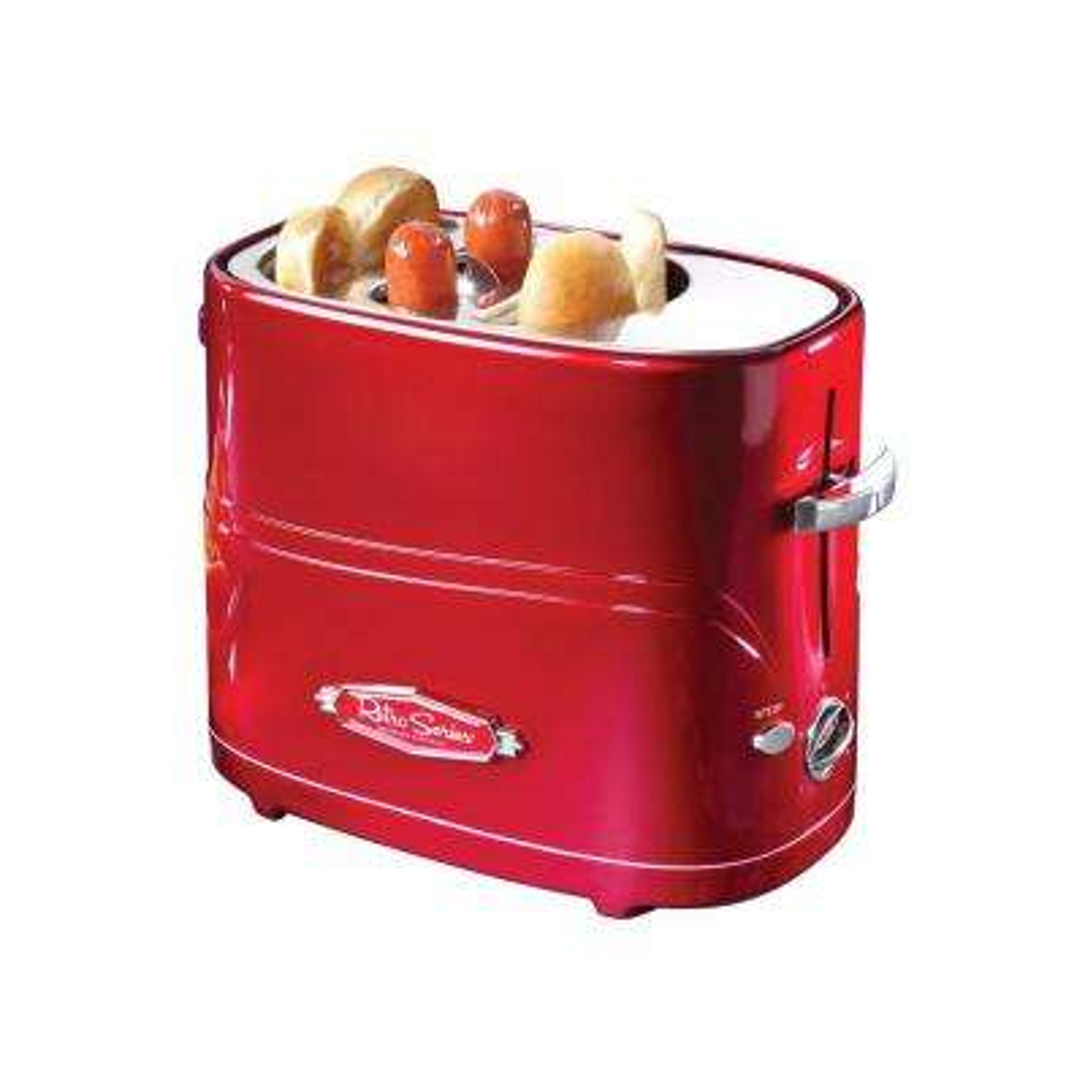 2-Slice Red Hot Dog Toaster