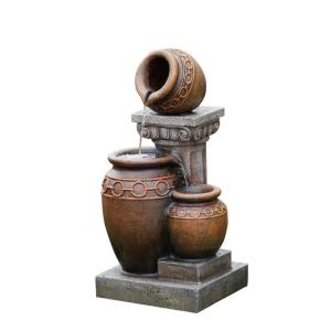 Jeco Classic 3-Pot and Column Water Fountain by Jeco