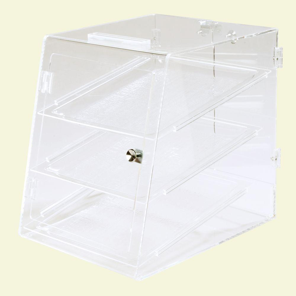 Carlisle Fully Assembled Clear 3 Tray Self Service Pastry...