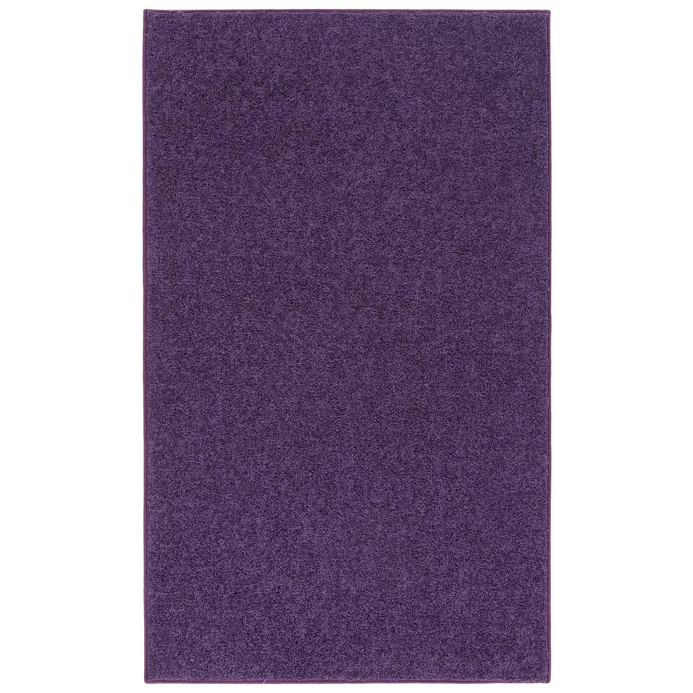Nance Industries Oure Bright Purple 5 Ft X 7 Indoor Area Rug