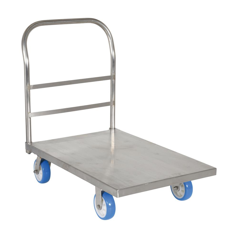 24 in. x 36 in. Stainless Steel Platform Truck