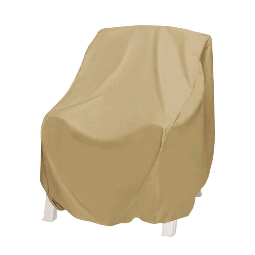 Khaki Oversized Patio Chair Cover