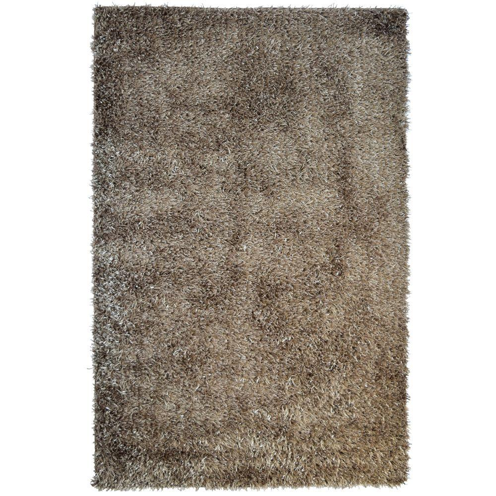 Home Decorators Collection City Sheen Clay Polyester 3 ft. x 4 ft. 6 in. Area Rug