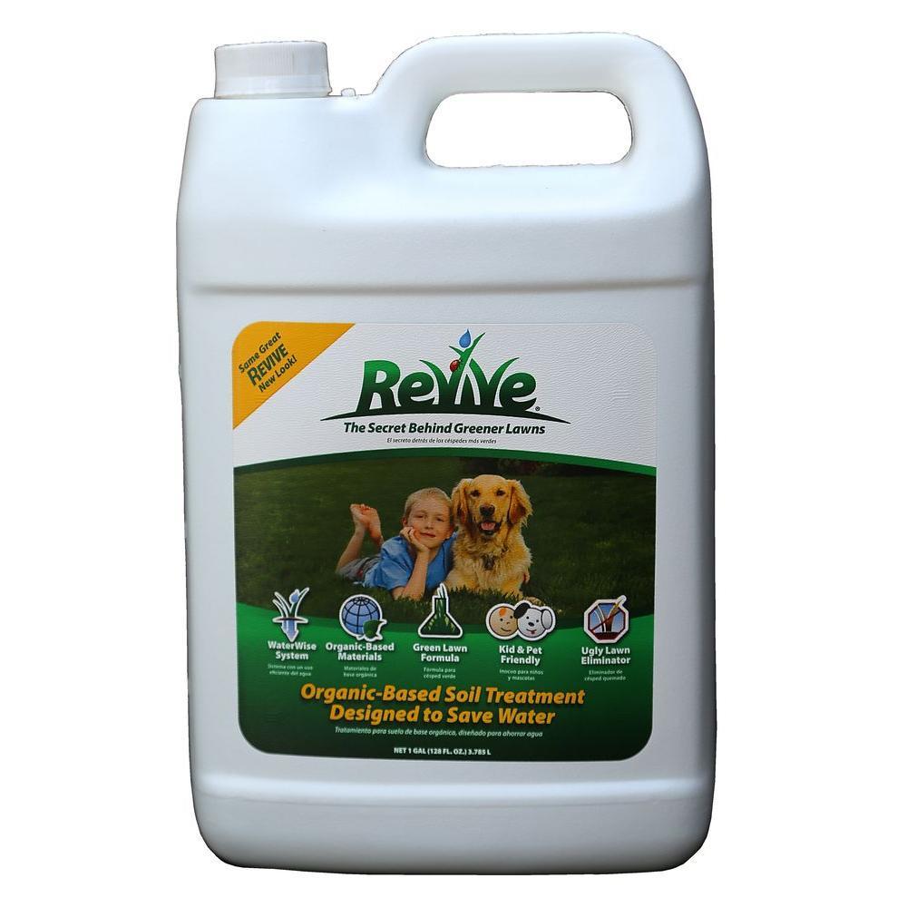 Revive 1 Gal Organic Liquid Soil Lawn Treatment 100046746 The Home Depot