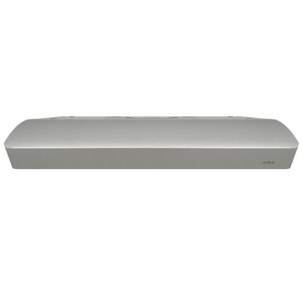 Mantra 36 in. Convertible Under Cabinet Range Hood with Light in Stainless Steel