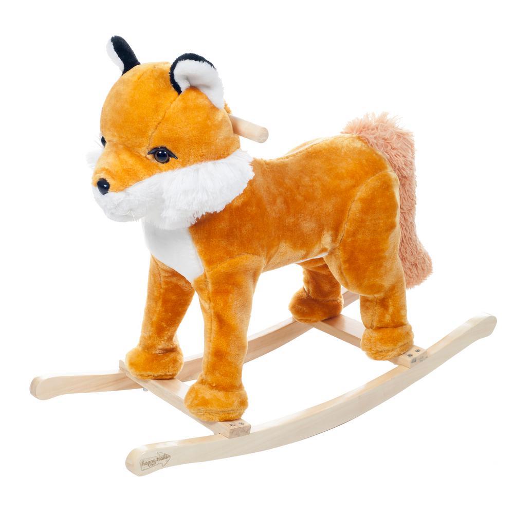 Plush Rocking Felix the Fox