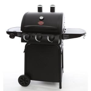 Click here to buy Char-Griller Grillin Pro 3-Burner Propane Gas Grill in Black by Char-Griller.