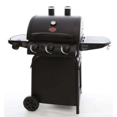 Grillin Pro 3-Burner Propane Gas Grill in Black