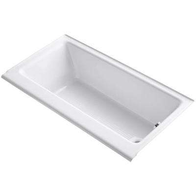 Highbridge 5 ft. Right-Hand Drain Soaking Tub in White