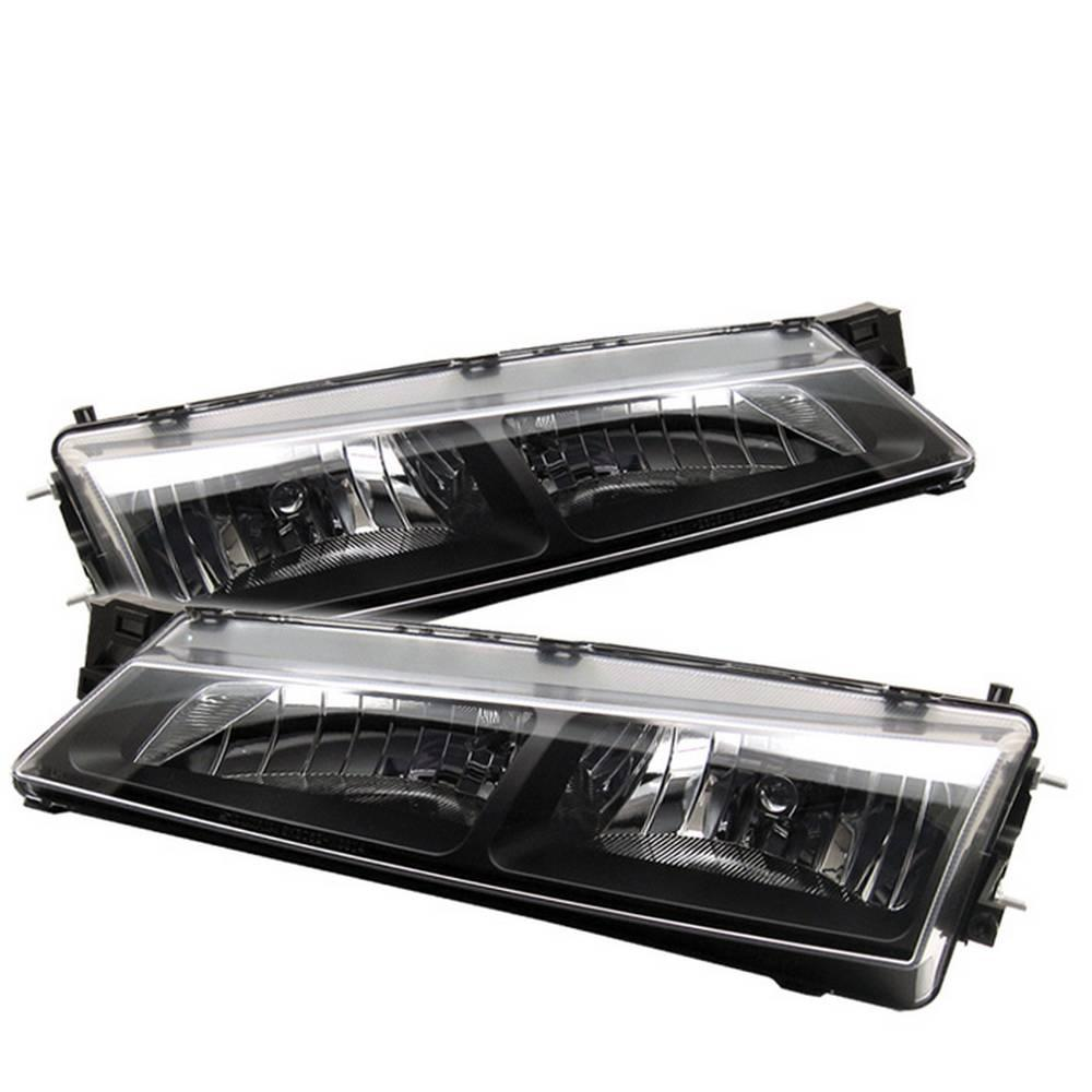 Spyder Auto Nissan 240SX 97-98 Crystal Headlights - Black