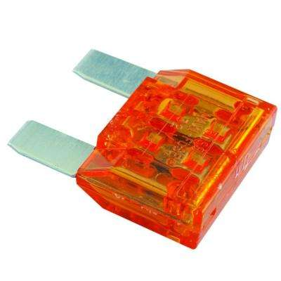 Non Time Delay Two-Blade MAX Fuse in Orange