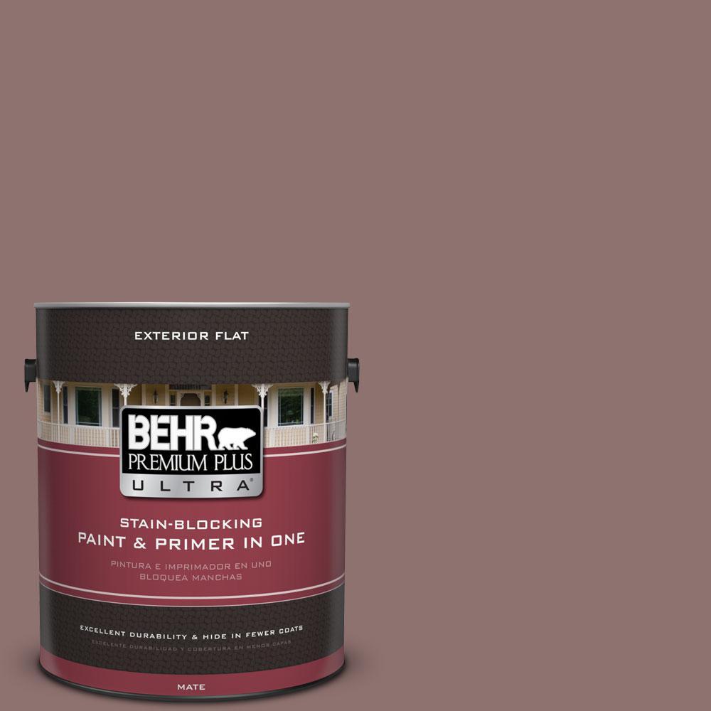 BEHR Premium Plus Ultra 1-gal. #720B-5 Bitter Briar Flat Exterior Paint