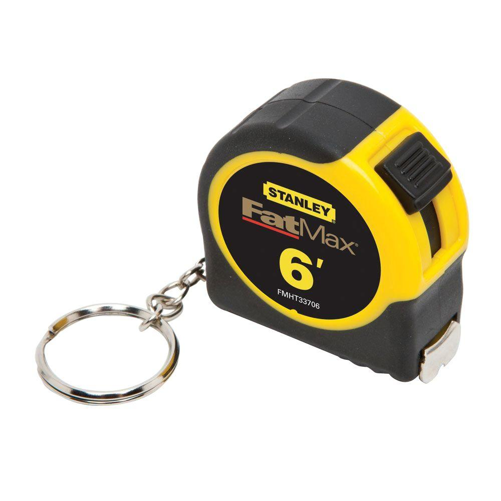 Stanley FATMAX 6 ft. Keychain Pocket Tape Measure