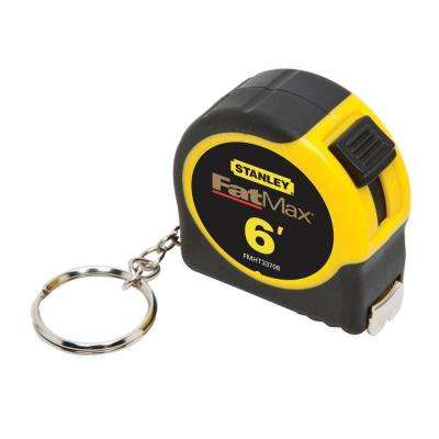 FATMAX 6 ft. x 1/2 in. Keychain Pocket Tape Measure