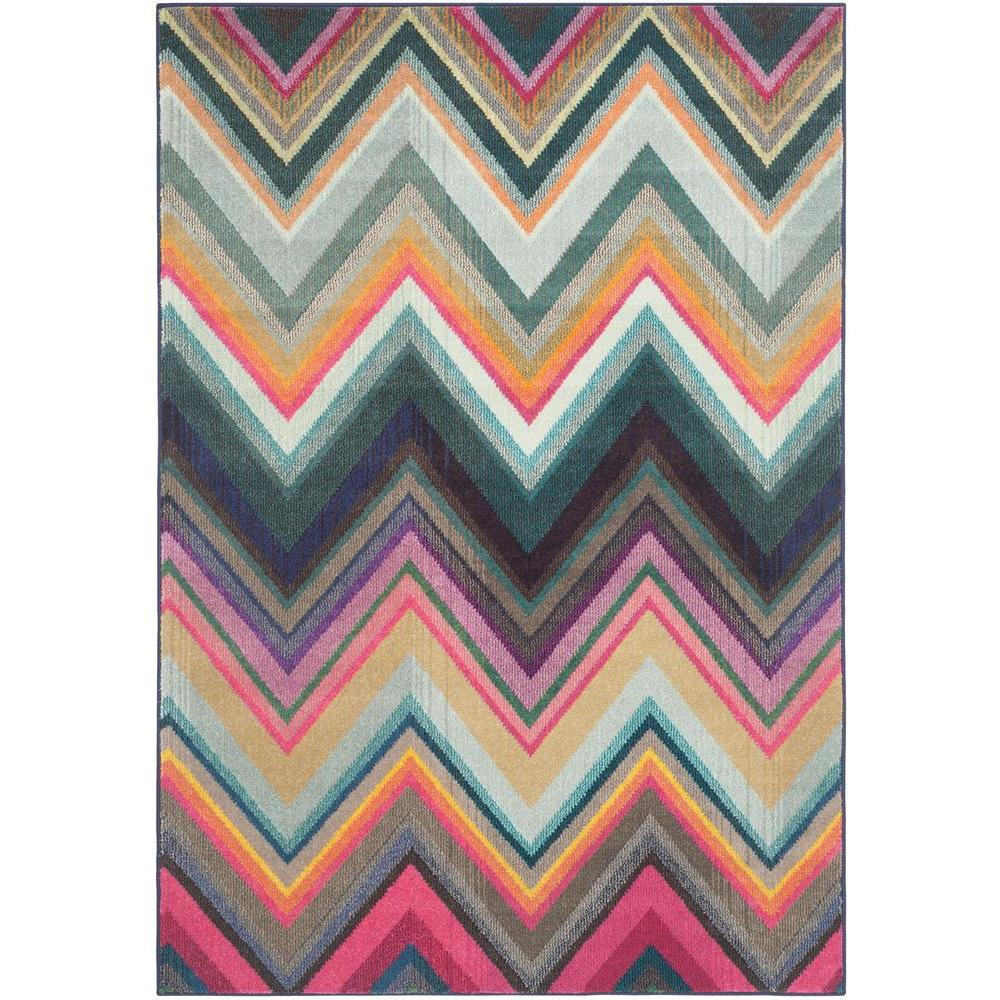 Safavieh Monaco Multi 4 Ft X 5 Ft 7 In Area Rug Mnc234f