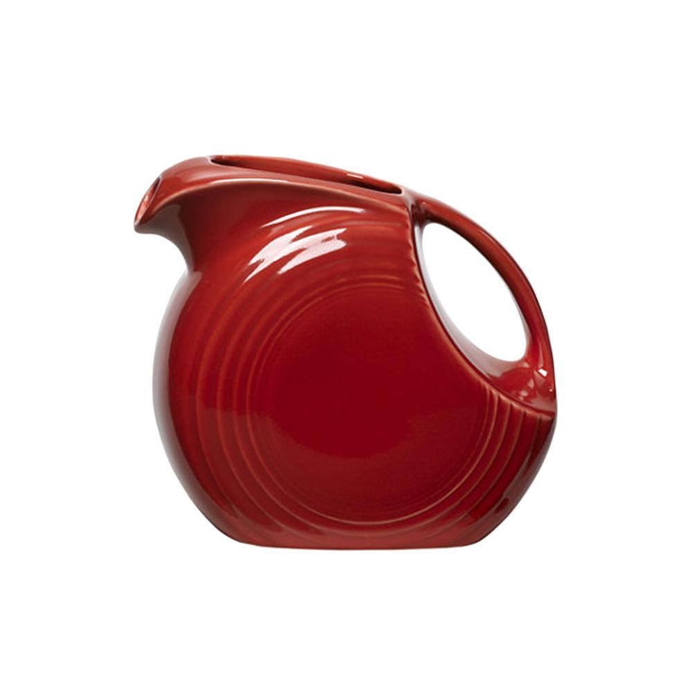 67.25 oz. Scarlet Ceramic Large Pitcher Disk