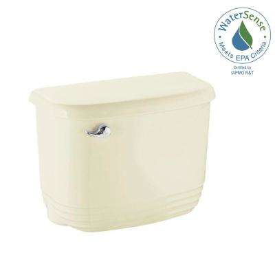 Riverton 1.28 GPF Single Flush Toilet Tank Only in Biscuit