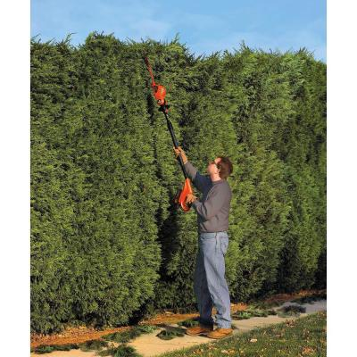 18 in. 20V MAX Lithium-Ion Cordless Pole Hedge Trimmer with (1) 1.5Ah Battery and Charger Included