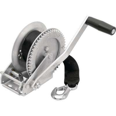 Single Speed 1,800 lbs. Maximum Load Trailer Winch
