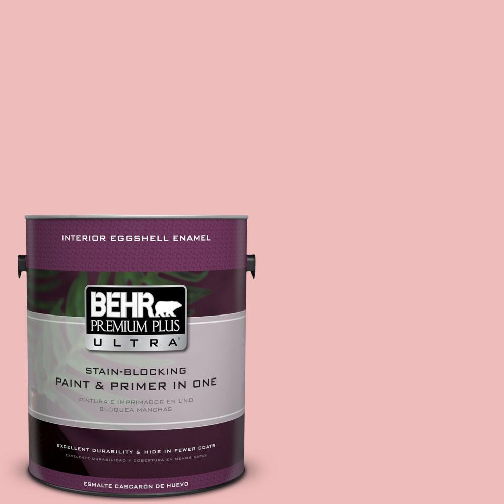 BEHR Premium Plus Ultra Home Decorators Collection 1-gal. #HDC-CT-09 Bridal Bouquet Eggshell Enamel Interior Paint