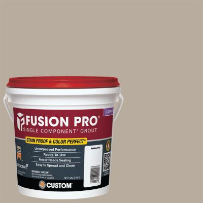 Fusion Pro #386 Oyster Gray 1 Gal. Single Component Grout