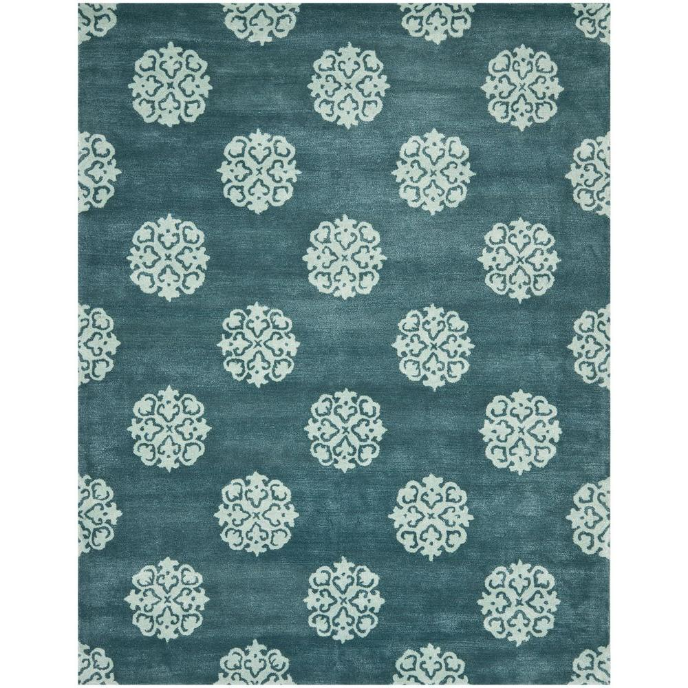 Soho Blue 9 ft. x 13 ft. Area Rug