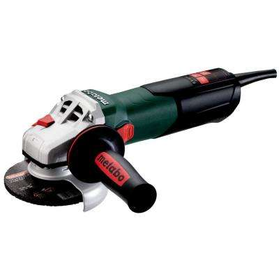 8.5 Amp Corded 4 1/2 in W 9-115 Quick Angle Grinder