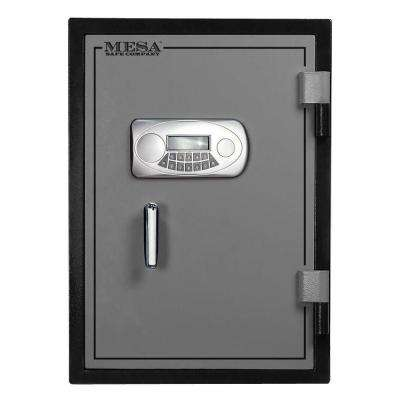 1.7 cu. ft. U.L. Classified All Steel Fire Safe with Electronic Lock in 2-Tone, Black and Grey