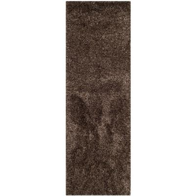 California Shag Mushroom 2 ft. x 5 ft. Runner Rug