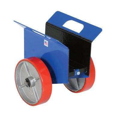 1,500 lb. Adjustable Plate and Slab Dolly with Poly-on-Steel Wheel
