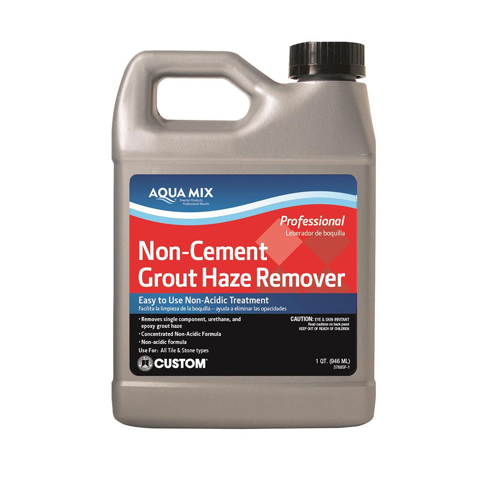 Custom Building Products Aqua Mix 1 Qt  Non-Cement Grout Haze Remover