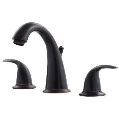 Vantage Collection 8 in. Widespread 2-Handle Bathroom Faucet with Pop-Up Drain in Oil Rubbed Bronze