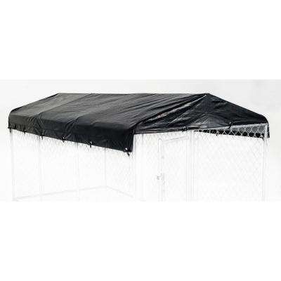 5 ft. W x 15 ft. L Kennel Frame and Cover Set for 28 mm Kennel