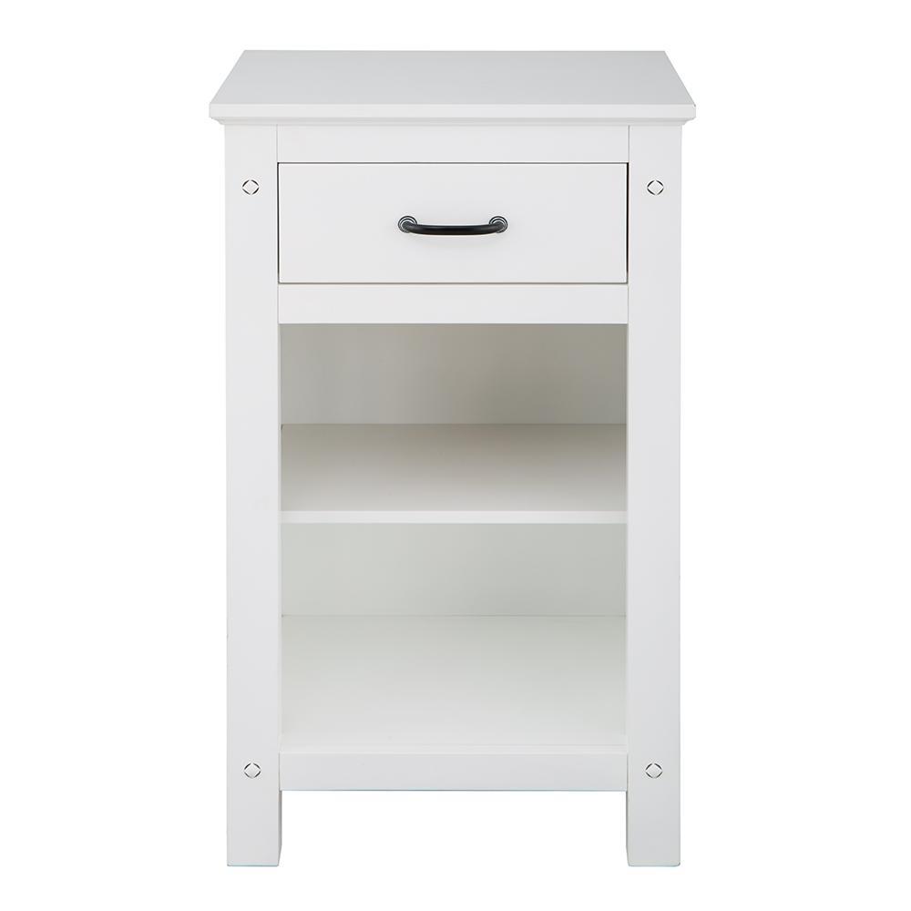 Avondale 20 in. W x 35 in. H Floor Cabinet in White