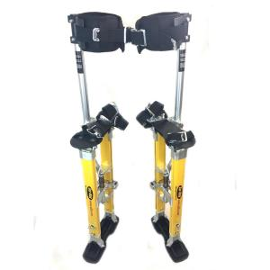 SurPro 24 inch to 40 inch Adjustable Height Single Support Legs Magnesium Drywall Stilts by