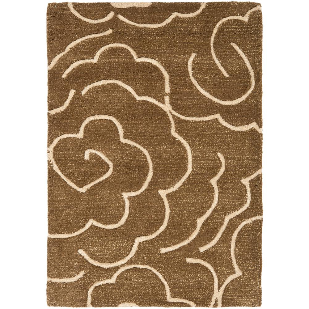 Soho Brown/Ivory 2 ft. x 3 ft. Area Rug