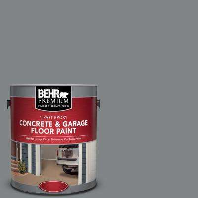 1 gal. #PFC-63 Slate Gray 1-Part Epoxy Satin Interior/Exterior Concrete and Garage Floor Paint