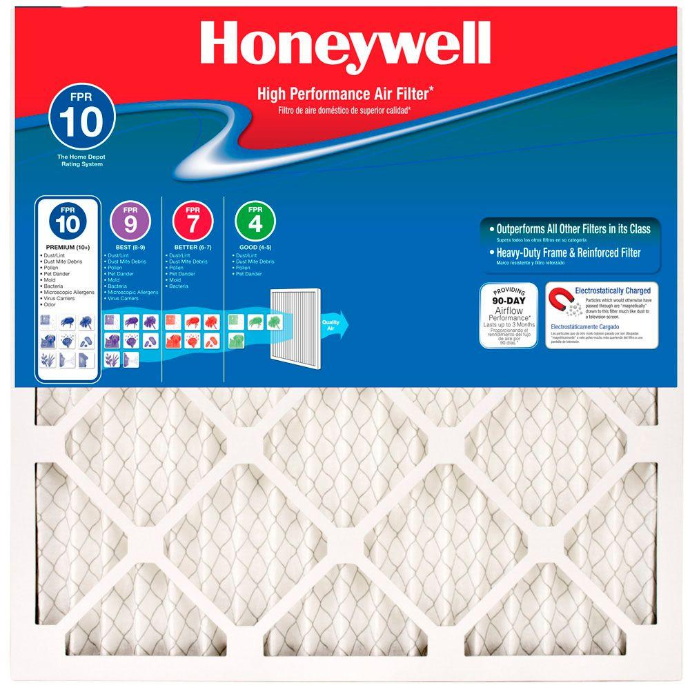 Honeywell 20 in. x 24 in. x 1 in. Elite Allergen Pleated FPR 10 ...