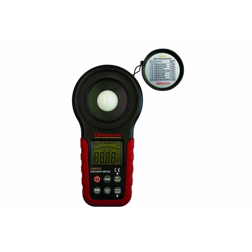 Digital LED Light Meter